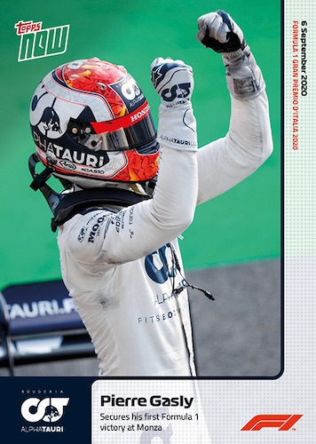 2020 Topps Now Formula 1 Racing Cards Checklist Guide 1