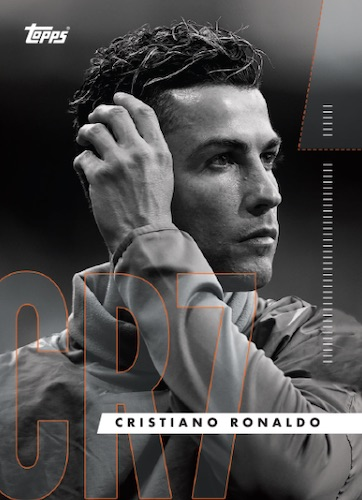 2020 Topps X Cristiano Ronaldo Curated Trading Cards 2