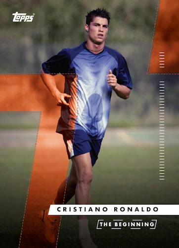 2020 Topps X Cristiano Ronaldo Curated Trading Cards 1