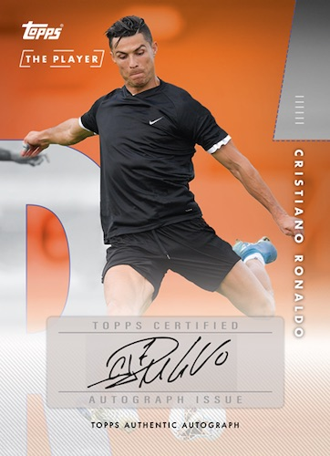 2020 Topps X Cristiano Ronaldo Curated Trading Cards 12