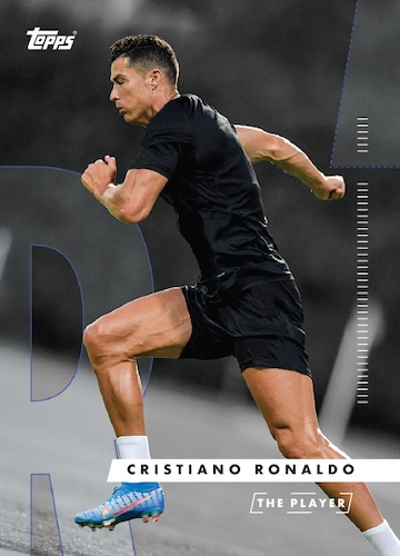 2020 Topps X Cristiano Ronaldo Curated Trading Cards 11