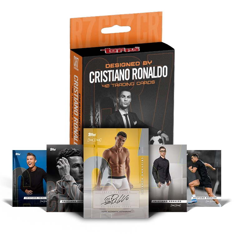 2020 Topps X Cristiano Ronaldo Curated Trading Cards 4