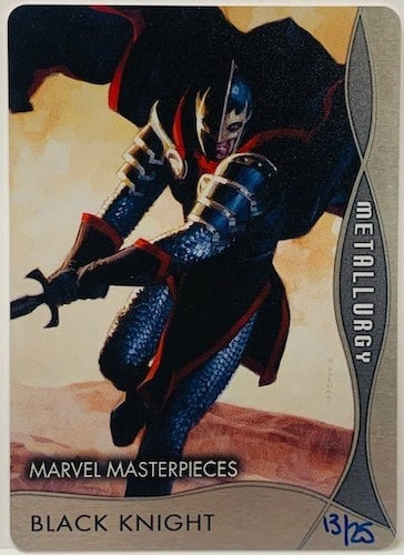 2020 Upper Deck Marvel Masterpieces Trading Cards 9