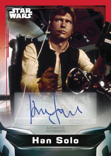2021 Topps Star Wars Signature Series Trading Cards 4
