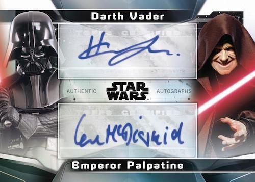 2021 Topps Star Wars Signature Series Trading Cards 5