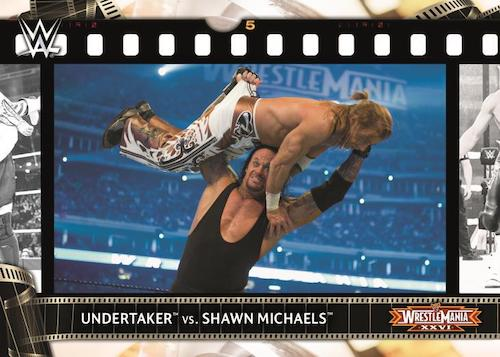 2021 Topps WWE Road to WrestleMania Wrestling Cards 7