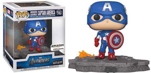 Funko Pop Avengers Deluxe Set Figures - Victory Shawarma & Avengers Assemble Series 8