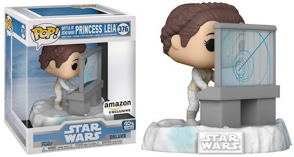 Funko Pop Star Wars Battle at Echo Base Deluxe Figures 5