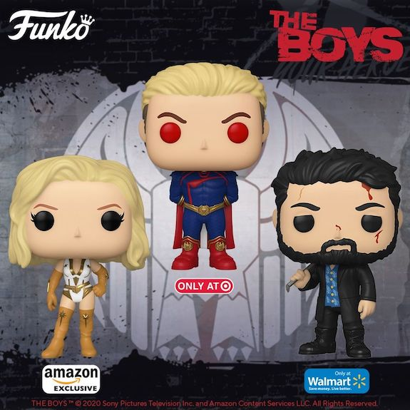Funko Pop The Boys Figures 2