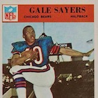 Top 10 Gale Sayers Football Cards