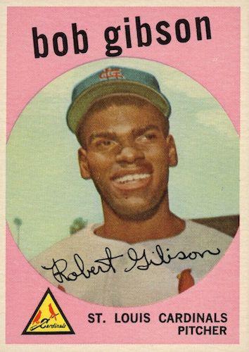 Top 10 Bob Gibson Baseball Cards 11