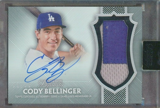 Top Cody Bellinger Rookie Cards and Key Prospect Cards 19