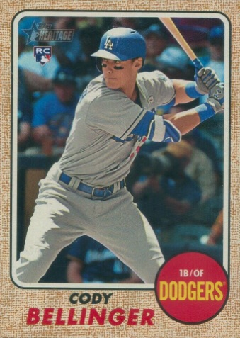 Top Cody Bellinger Rookie Cards and Key Prospect Cards 28