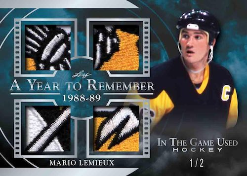 2020-21 Leaf In the Game Used Hockey Cards 1