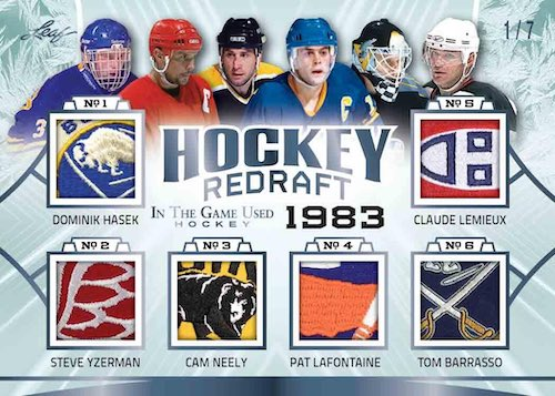 2020-21 Leaf In the Game Used Hockey Cards 7