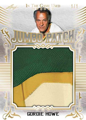 2020-21 Leaf In the Game Used Hockey Cards 2