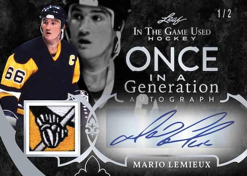 2020-21 Leaf In the Game Used Hockey Cards 9
