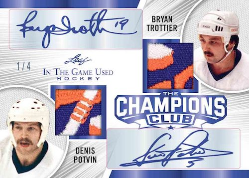 2020-21 Leaf In the Game Used Hockey Cards 10