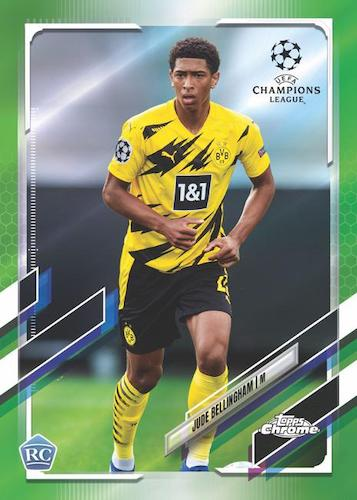 2020-21 Topps Chrome UEFA Champions League Soccer Cards 3