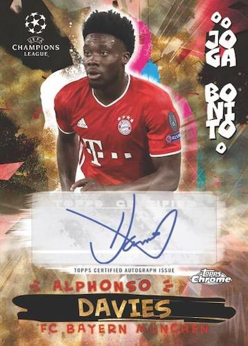 2020-21 Topps Chrome UEFA Champions League Soccer Cards 7