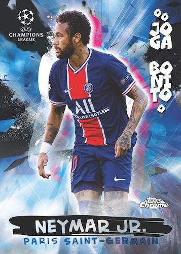 2020-21 Topps Chrome UEFA Champions League Soccer Cards 4
