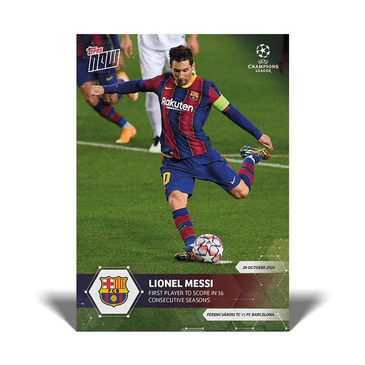 Topps now liga 2020-Erik thommy-card 131-German card versión