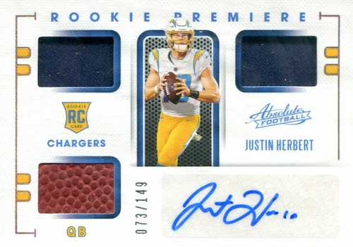 Top 2020 NFL Rookies Guide and Football Rookie Card Hot List 3