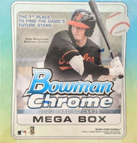2020 Bowman Chrome Mega Box Baseball Cards 3