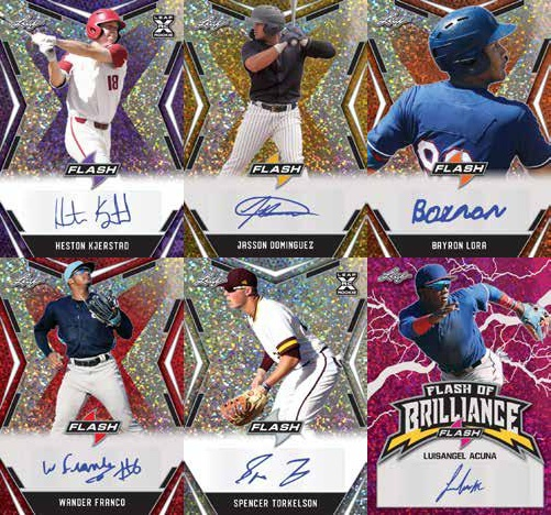 2020 Leaf Flash Baseball Cards 1
