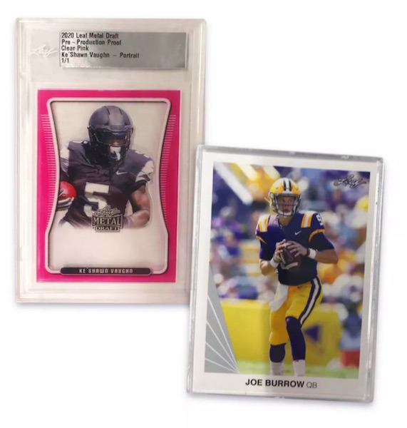 2020 Leaf Football Retail Trading Cards 2