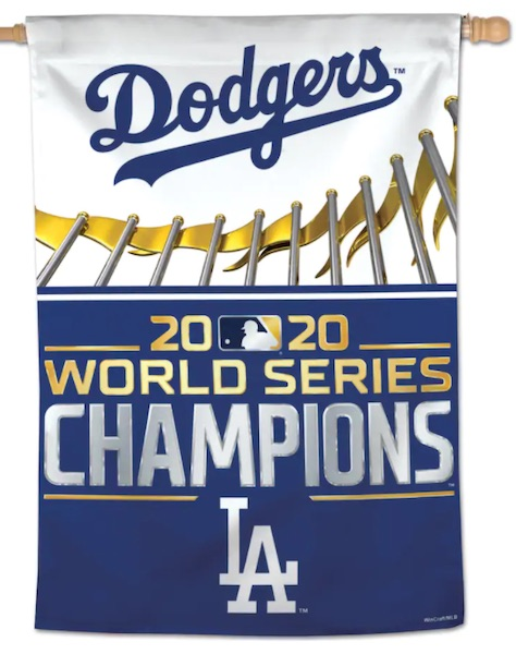 2020 Los Angeles Dodgers World Series Champions Memorabilia Guide 11