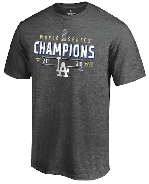 2020 Los Angeles Dodgers World Series Champions Memorabilia Guide 1