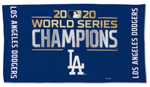 2020 Los Angeles Dodgers World Series Champions Memorabilia Guide 10