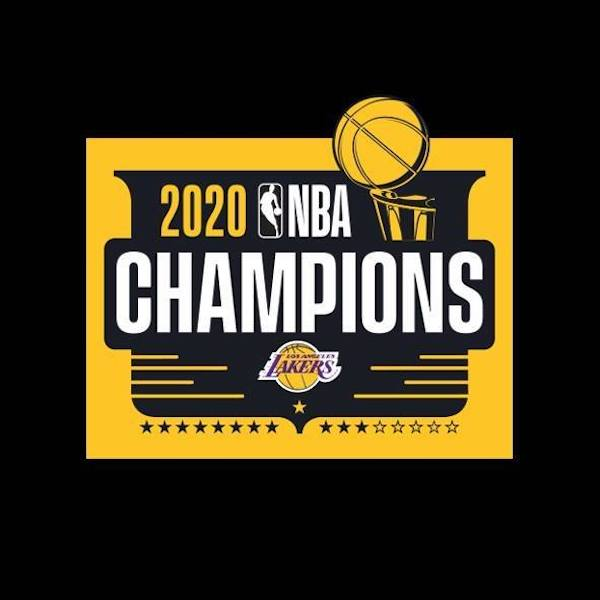 2020 Los Angeles Lakers NBA Finals Champions Gear List ...