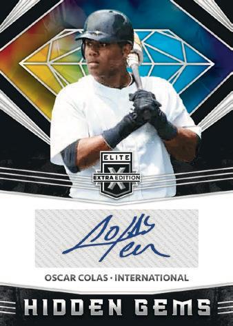 2020 Panini Elite Extra Edition Baseball Cards 9