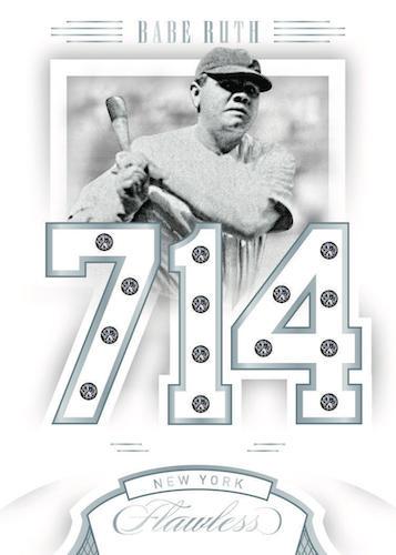 2020 Panini Flawless Baseball Cards 4