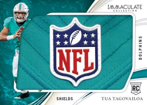 2020 Panini Immaculate Collection Football Cards - Checklist Added 7