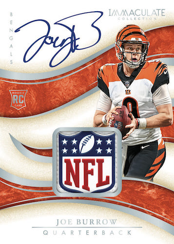 2020 Panini Immaculate Collection Football Cards - Checklist Added 1