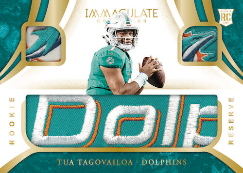 2020 Panini Immaculate Collection Football Cards - Checklist Added 6