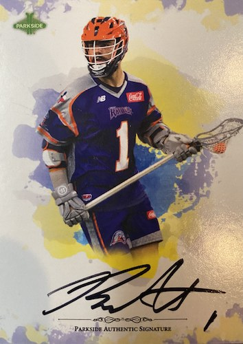 2020 Parkside Major League Lacrosse Select Series MLL Cards 2