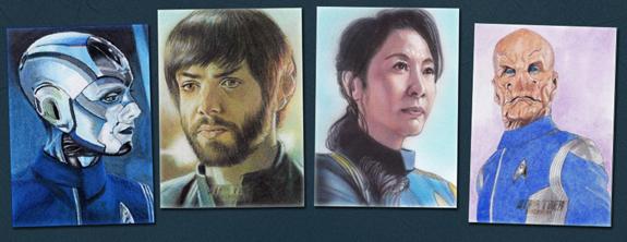 2020 Rittenhouse Star Trek Discovery Season 2 Trading Cards 3