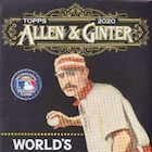 2020 Topps Allen & Ginter X Baseball Cards