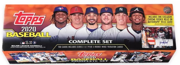 2020 Topps Baseball Complete Factory Set Guide and Exclusives Checklist 18