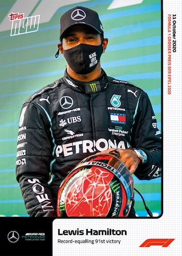 2020 Topps Now Formula 1 Racing Cards Checklist Guide 3