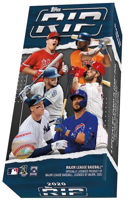 2020 Topps Rip Baseball Cards 7