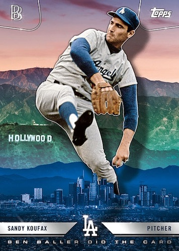 2020 Topps x Ben Baller Los Angeles Dodgers World Series Champions Cards 3