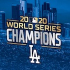 2020 Topps x Ben Baller Los Angeles Dodgers World Series Champions Cards