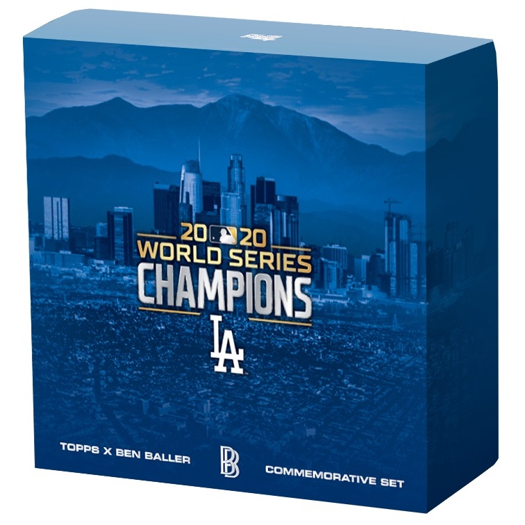 2020 Topps Now Los Angeles Dodgers World Series Champions Cards and Collaborations Guide 3