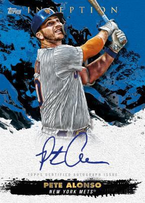 2021 Topps Inception Baseball Cards - Checklist Added 6