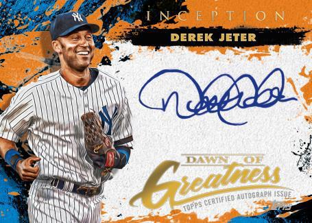2021 Topps Inception Baseball Cards - Checklist Added 7